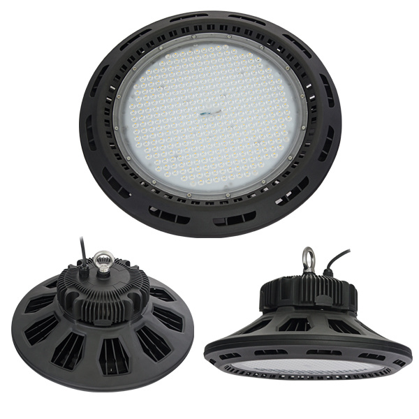 2017 New Product Industrial Lighting 100W 150W 200W Luminaire Philips 3030 SMD UFO LED High Bay