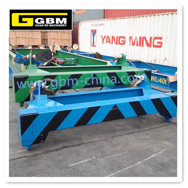ISO 20FT 40FT Semi Automatic Container Spreader for Lifting