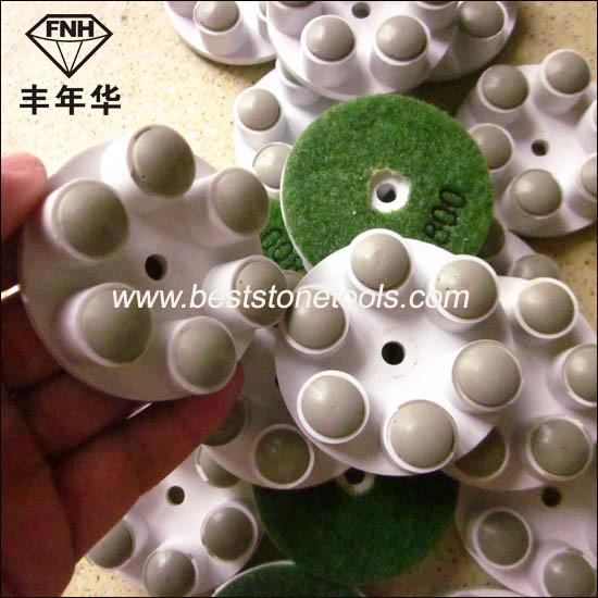 Cr-21 Stone Concrete Diamond Floor Pad (50mm)