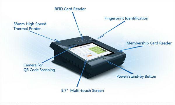 Checkout Machine/Checkout Payment Machine/Jepower Quad-Core Android Checkout Payment Machine