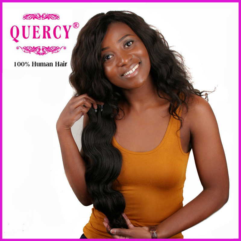 Quercy Hair 8A Grade Top Quality 100% Human Malaysian Virgin Remy Chemical Free Human Hair