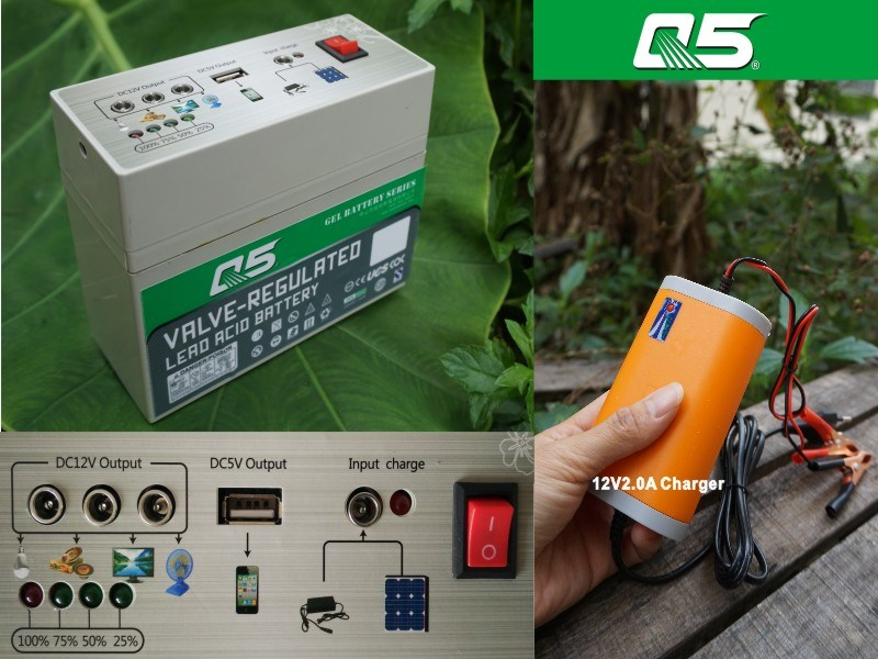 12V7AH The Battery Goes with Inverter Use (multipurpose)outdoor power supply plan of 12V low voltage battery tester battery tender solar battery charger