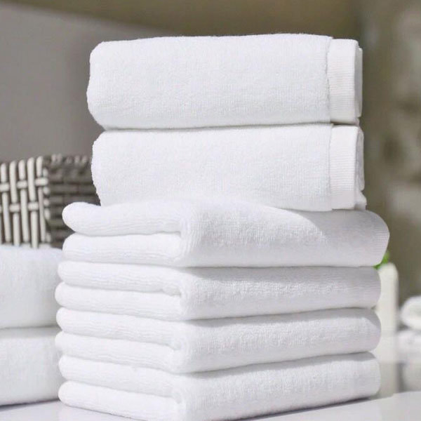 Widely Used Cotton White Towels Hotel Terry Bath Towel