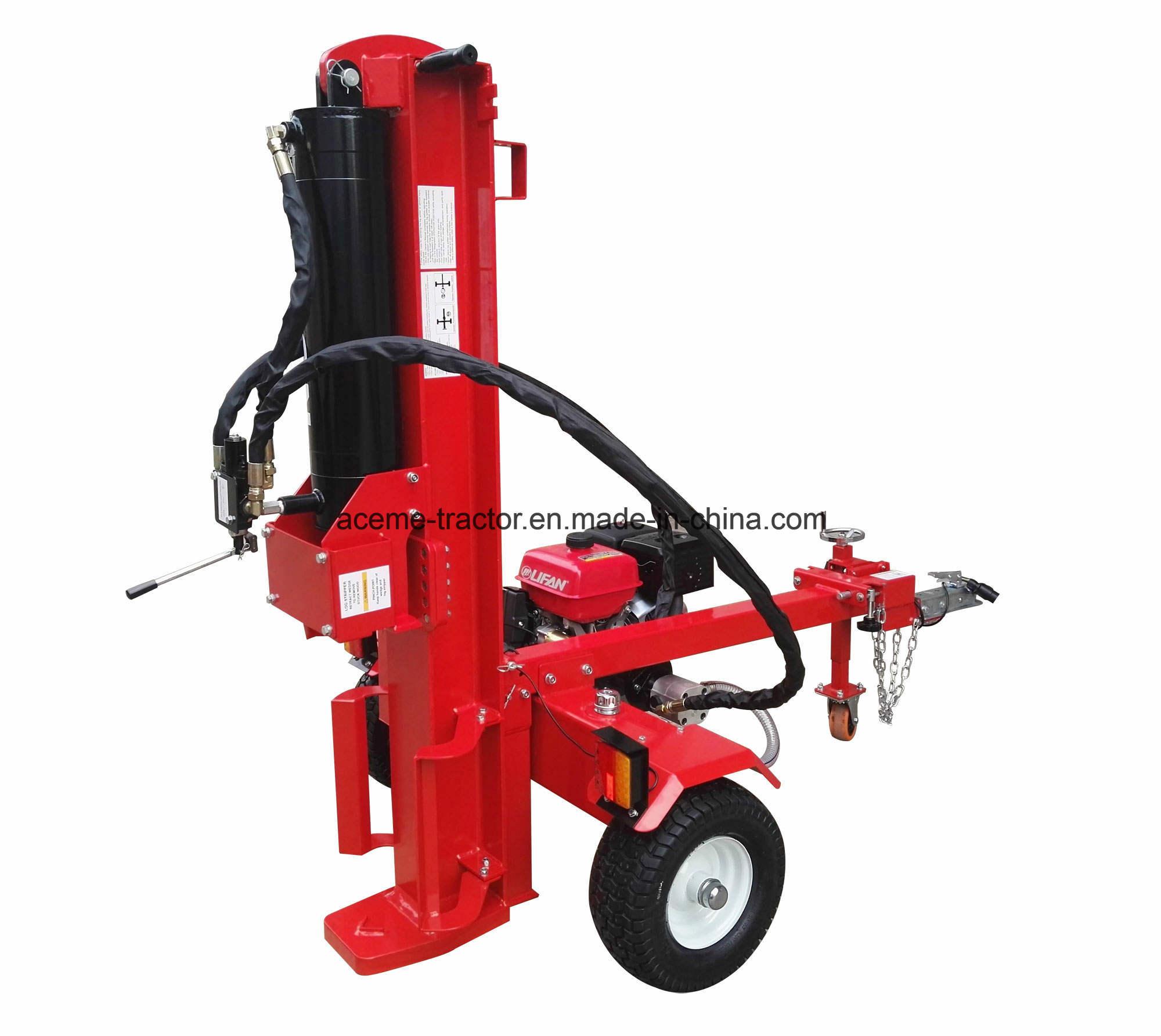 60t 15HP Lifan Gasoline Engine EU Log Splitter Ce EPA