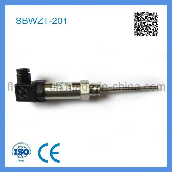 4-20 Ma Output PT 100 Temperature Transmitter with Hirschmann Plug (SBWZT-201)