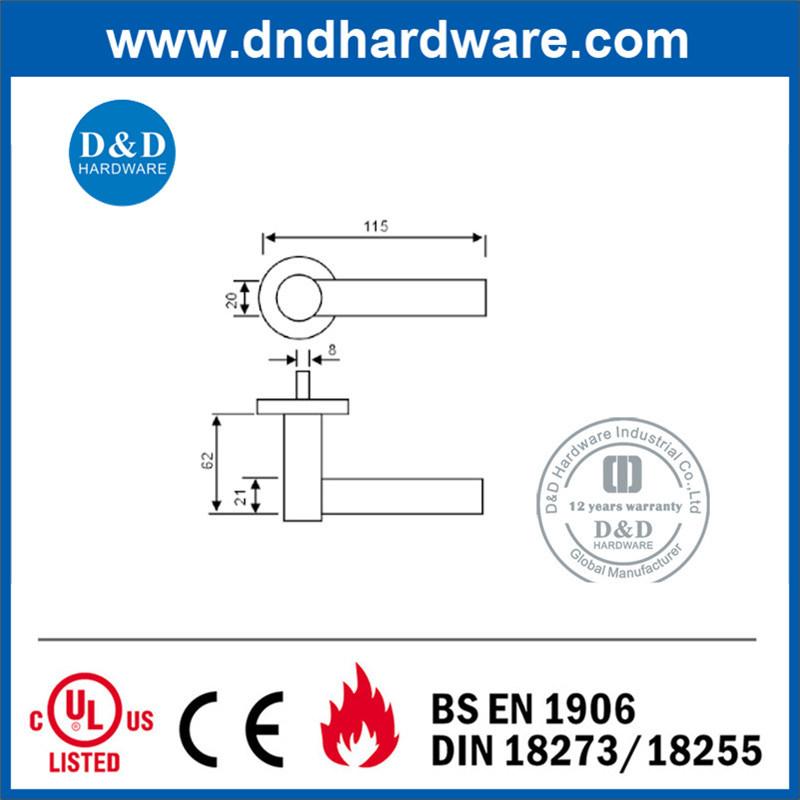 Hardware Door Handle for Door Lock