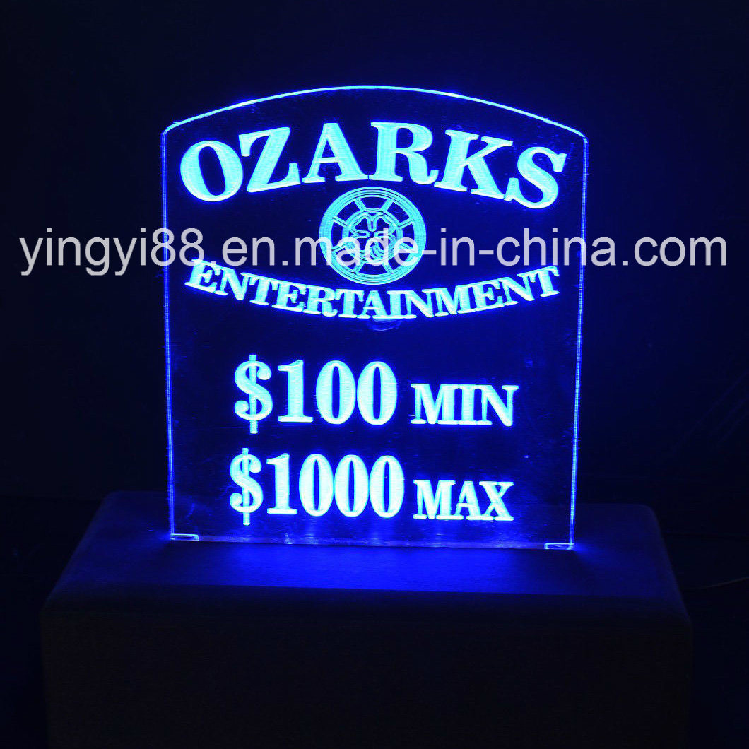 Custom  LED Display Board with Logo
