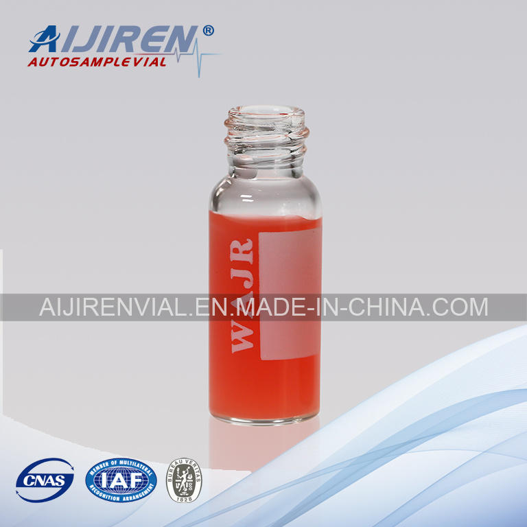 2ml Screw Thread Clear Glass Vial for HPLC Analysis
