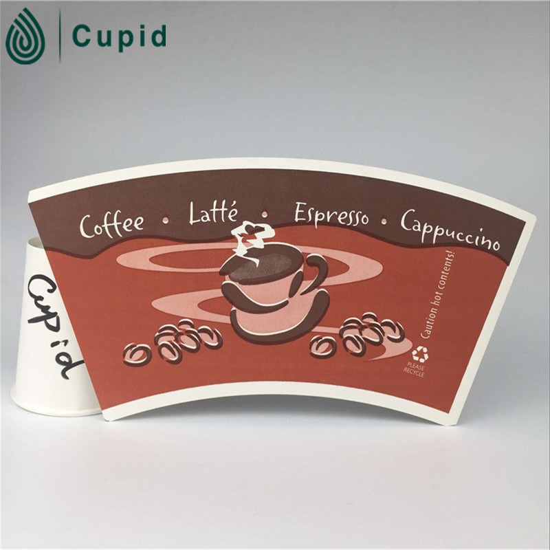 Tuoler Brand Customized Size Food Grade Disposable Single PE Coated Cup Paper for Paper Cup on Sale