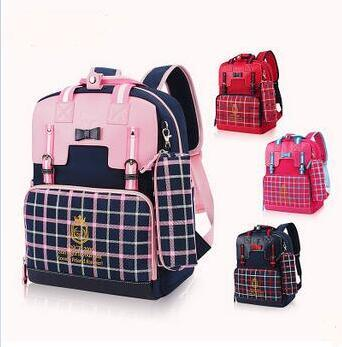 OEM Top Quality PU Leather School Backpack Bags