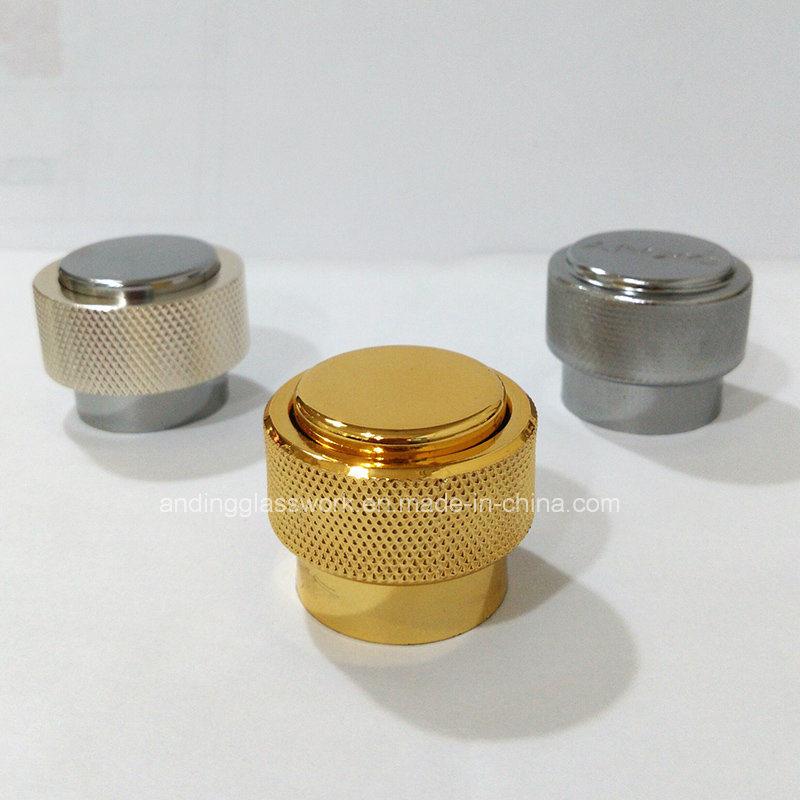 Alloy Lid Cap Metal Lid Glass Perfume Bottle