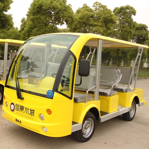 Ce Approved 8 / 11 Person Electric Sightseeing Bus (DN-8F)