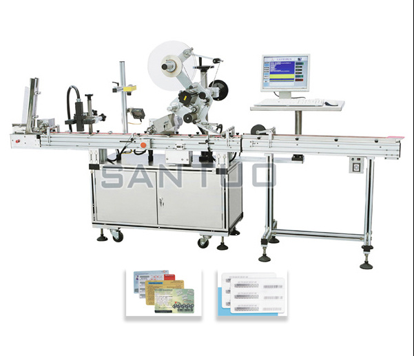 All-in-One Prepaid Card Printing and Labeling Machine/Labeler