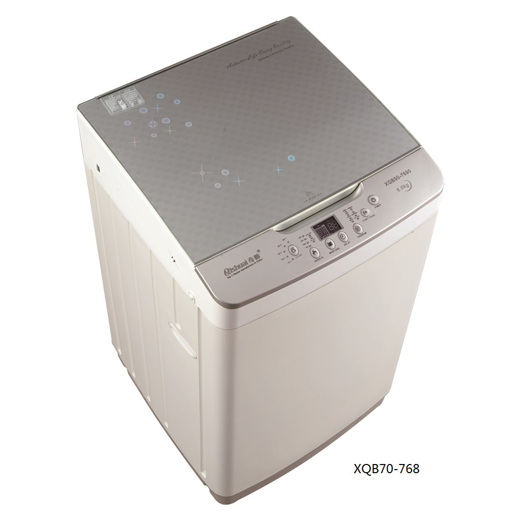 7.0kg Fully Atuo Washing Machine (plastic body/glass lid) XQB70-768