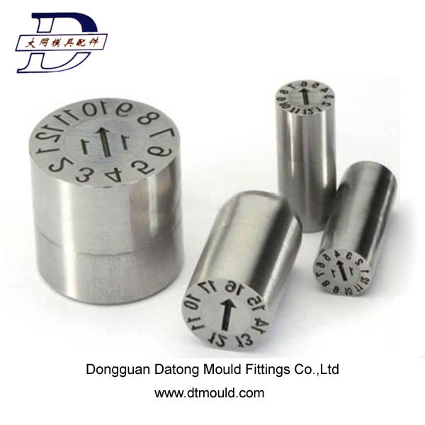 High Precision Date Marker of Mold Parts for Plastic Injection