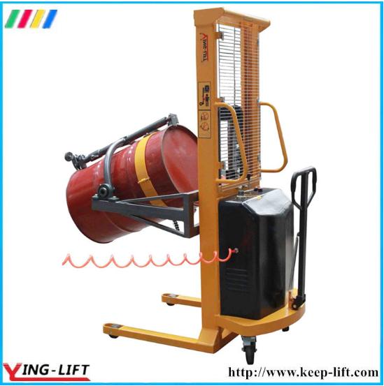 180 Degree Rotation Pneumatic Drum Lifter Rotator Da300