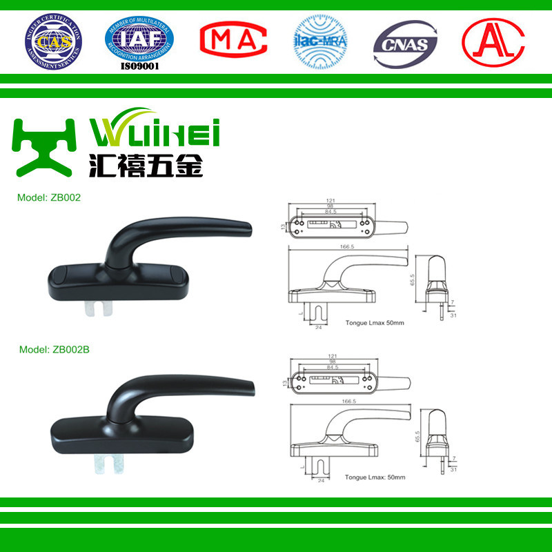 Multi Points Lock Handle for Aluminium Profile (ZB002)