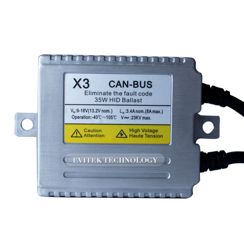 Evitek 35W Error Light Canceller Canbus HID Electronic Ballast Tn-X3c