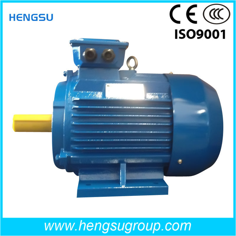 China ye2 110kw cast iron three phase ac induction for Abc electric motor repair