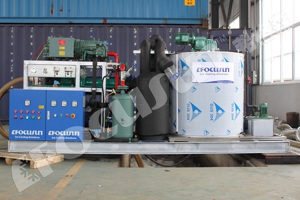 Durable, Low Failure Rate Seawater Flake Ice Machine