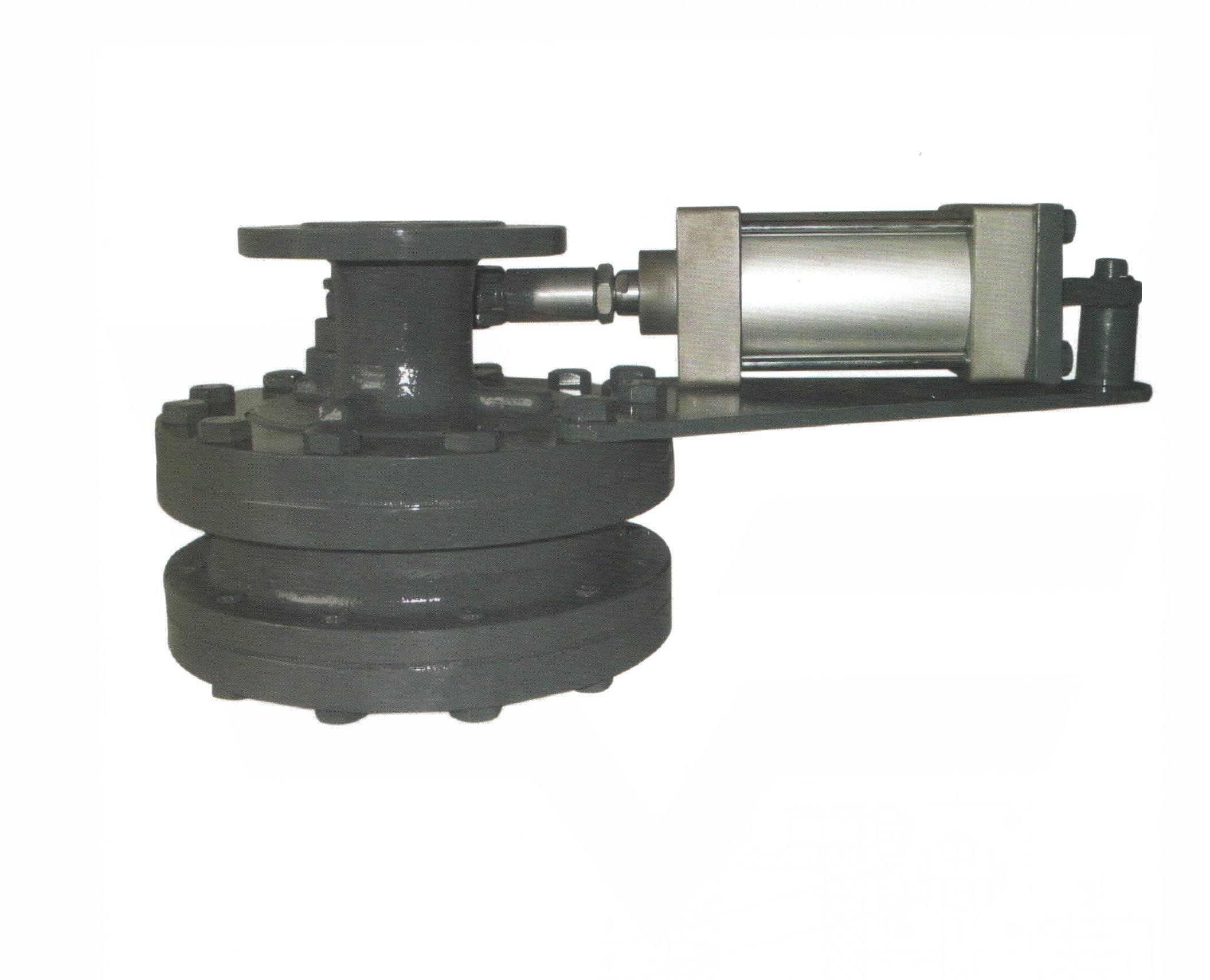 Pneumatic Ceramic Swing Discharge Gate Valve (GBZ644TC)