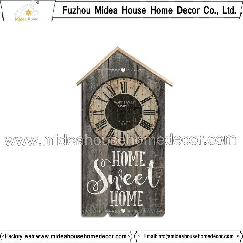 Home Sweet Home Big Antique Clock