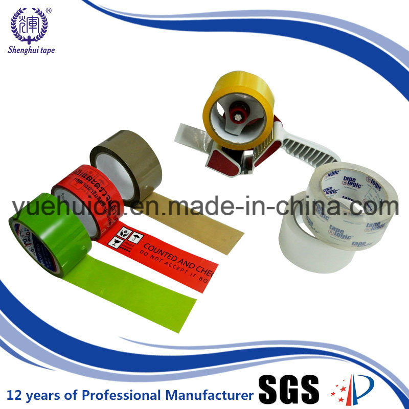 for Factory Wrapping Used of BOPP Adhesive Tape