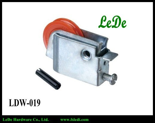 Hot Selling Middle East Window Roller 60kg Bearing Popular Window Roller Window Wheel of The Window Factory