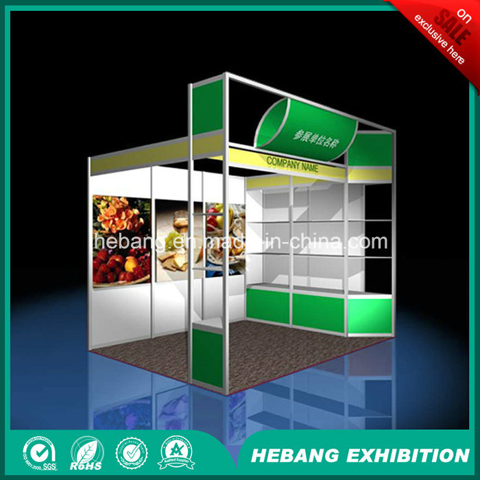 Hb-L00015 3X3 Aluminum Exhibition Booth