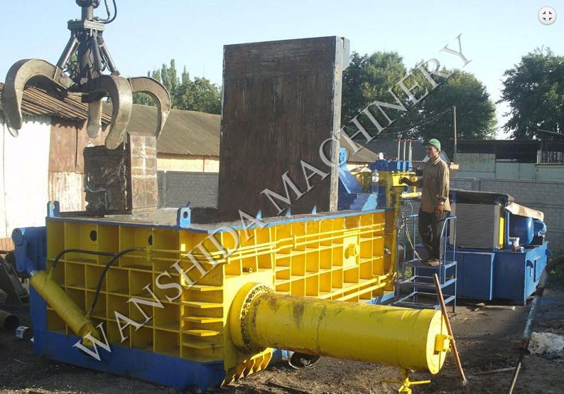 High Capacity Scrap Metal Baler