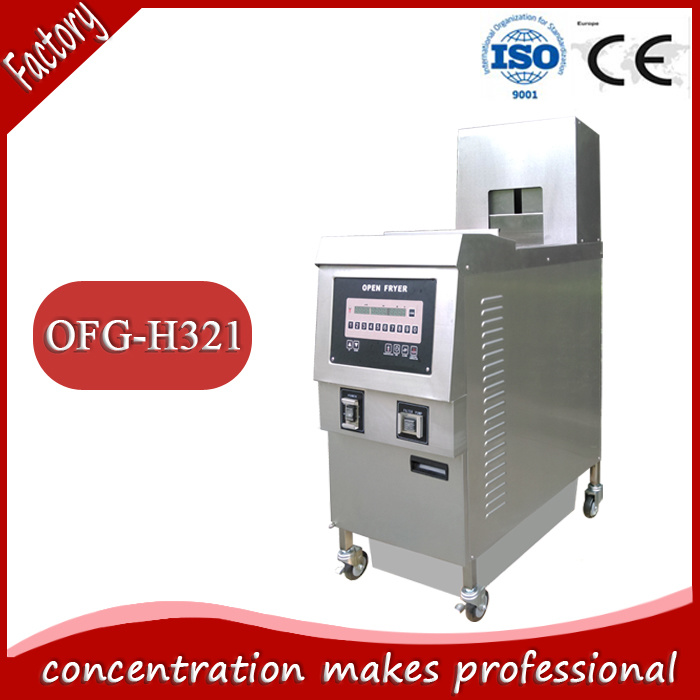 2017 Hot Sale Ofg-H321 Commercial Continuous Potato Donut Open Deep Fryer