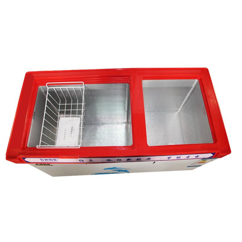 Large Frozen Small Refrigeration Top Open Door Direct Cooling Freezer