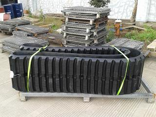 Excavator Rubber Track for Global Excavator/Paving Machines