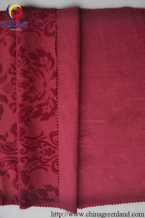 N/R Flocking, Twill Warp Elastic Fabric for Women′s Dress