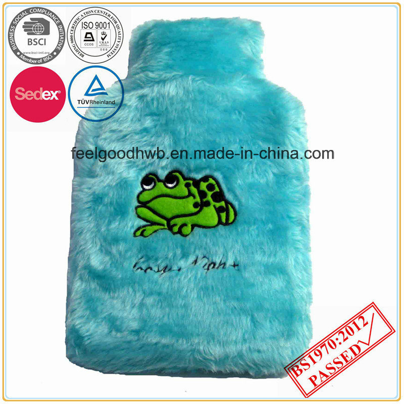 Embroidery Lovely Animal Hot Water Bottle Cover
