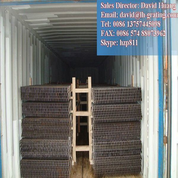 Galvanized Steel Grating Walkway for Platform and Trench Cover