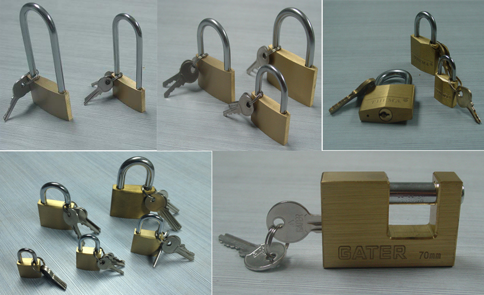 High-Quality Brass Padlock