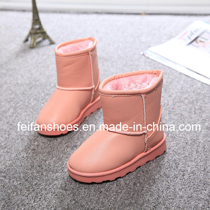 New Arrival Children Warm Snow Boots with Good Quality (FFSB-8)