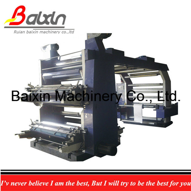 Automatic Flexographic PE/PP Bag Printing Machine 6 Colors Ce
