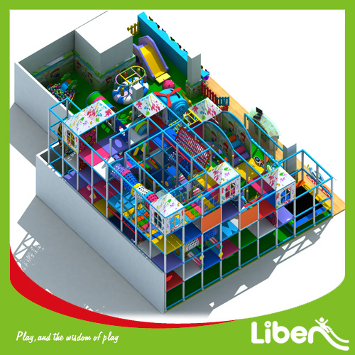 Amusement Park Equipment Large Indoor Playground for Children