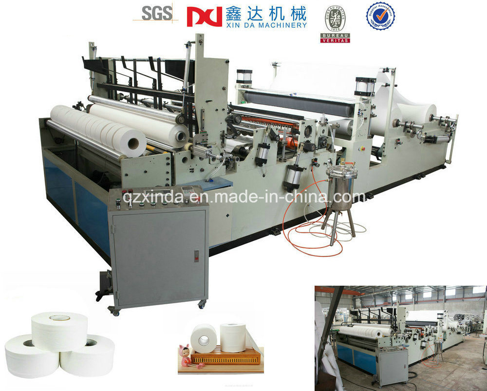 High Quality Toilet Paper Making Machine Prices, Maxi Roll Paper Machine