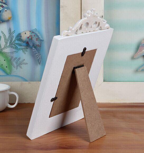 Solid Wood Frame Wooden Swing Sets 3/5/6/7-Inch Photo Frame
