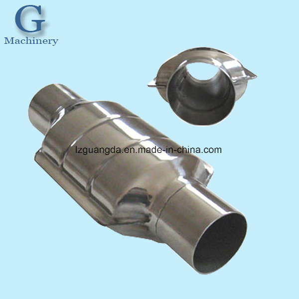 Auto Accessories Sheet Metal Stamping Parts Processing Catalytic Converter Housings