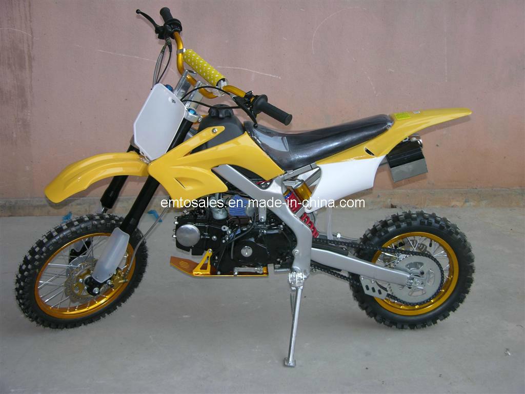 125CC Dirt Bike, 4 Stroke Electric Start Dirt Bike
