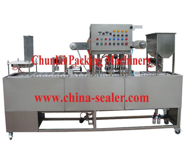 Cup Washing Filling Sealing Machine (GF-4)