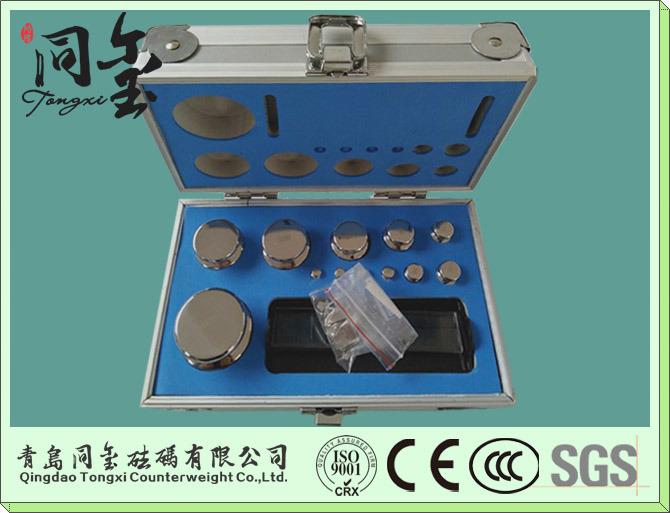 OIML F1 F2 M1 Class 1g-5kg Test Weight, Brass Weight Set, Analytical Balance Calibration Weight