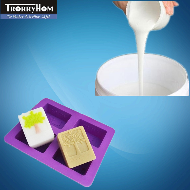 Platinum Cure Silicone Rubber for Making Colorful Soap Molds