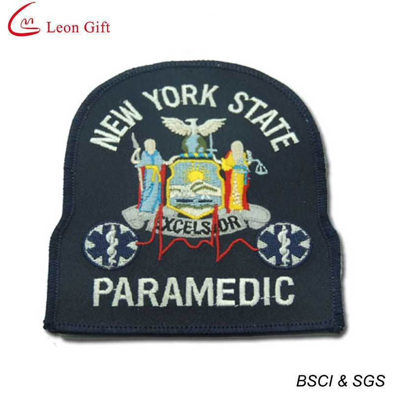 Custom Made Embroidery Patch with Hook & Loop Backing