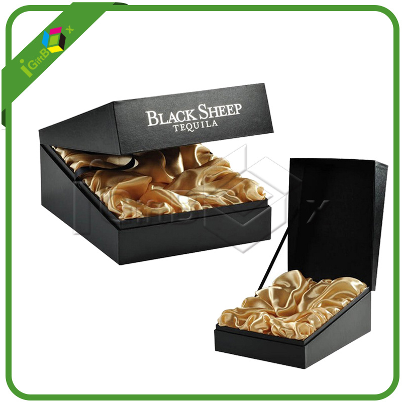 Paper Gift Packaging Wine Spirits Boxes for Glass Liquor Bottle Packing