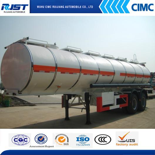 30m3 Oil Tanker Semi Trailer/Fuel Tank (WL9403GRY)